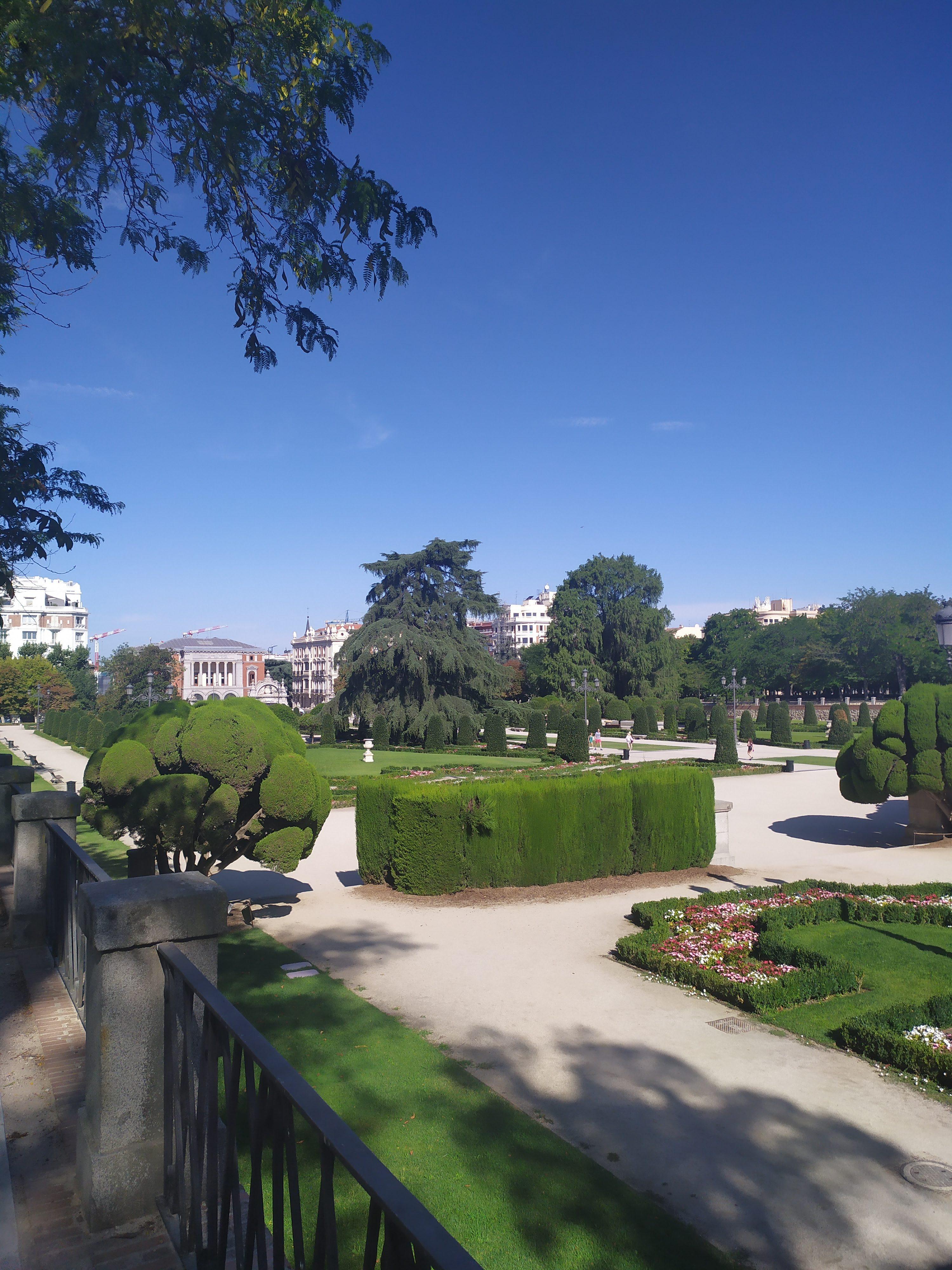 Парк Ретиро – Сад Партерре
