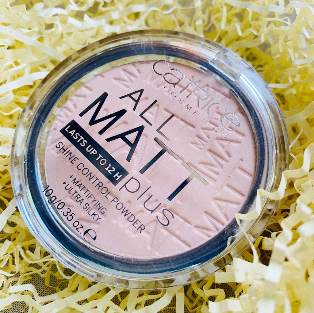 CATRICE all matt plus shine control powder